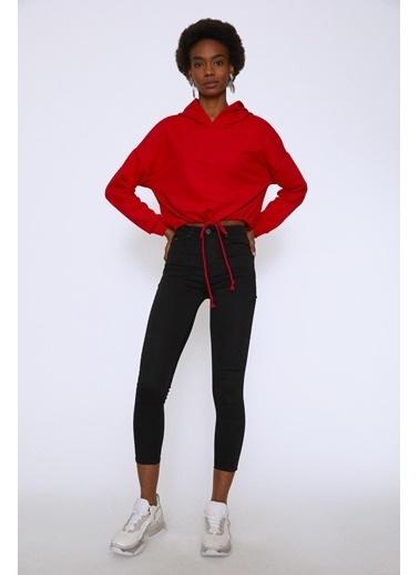 Quzu Sweatshirt Kırmızı
